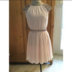 NWT Ted Baker embellished pink dress